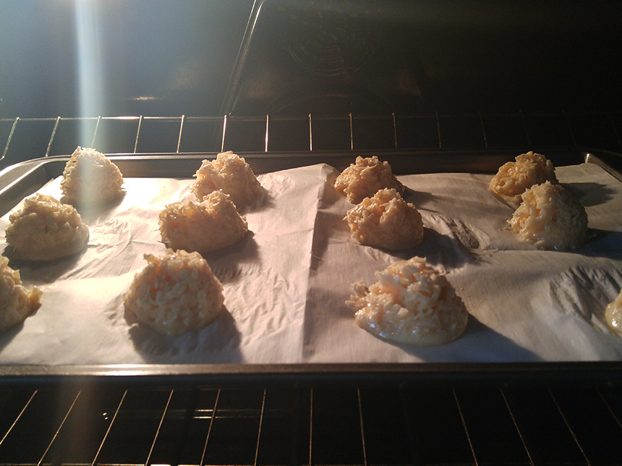 Step Six - Coconut Pyramids by Krys, Naturally!